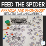 Feed the Spider Articulation, Apraxia, Phonology - Game, S