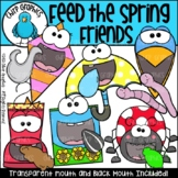 Feed the Spring Friends Clip Art Set - Chirp Graphics