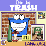 FREEBIE! Feed the Trash: Part to Whole Word Relationships