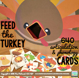 Feed the Turkey Articulation Activity |  640 Articulation