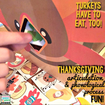 Articulation Feed the Turkey! {with 640 Artic and Phonology Cards}