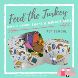 Feed the Turkey- Chomp Game- Shapes & Numbers