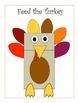 Feed the Turkey Thanksgiving Craftivity (Sight Word & Lett