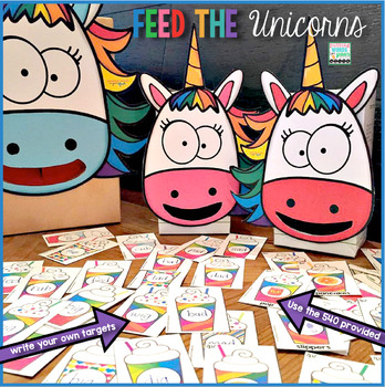 Feed the Unicorn {540 Articulation Cards ~ a deck for every phoneme and more}