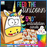 Feed the Unicorn Ariculation Activity    540 Articulation Cards
