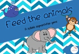 Feed the animals - Syllable Segmentation