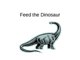 Feed the dinosaur