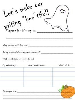 Feedback Form for Writing