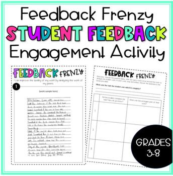Feedback Frenzy: Student Feedback Engagement Activity