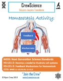 Feedback Mechanisms Activity with Key Homeostasis NGSS HS-LS1-2&3