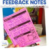 Feedback Notes