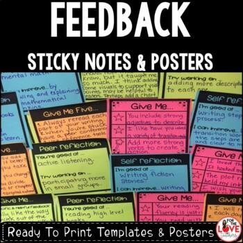 Student Feedback Sticky Notes