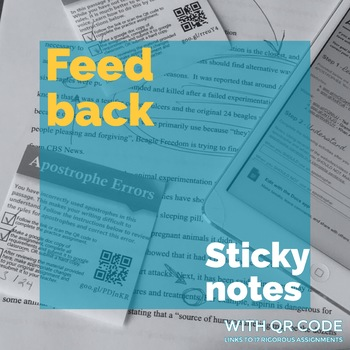 Feedback Stickynotes for Grammar and Writing Instruction
