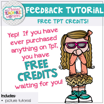 Feedback Tutorial For TpT Purchases - How to Provide Feedback