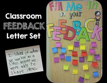 Feedback in the Classroom