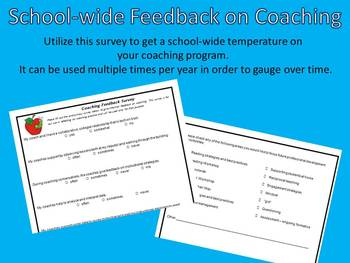 Feedback on Instructional Coaching - Survey for Staff