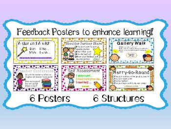 Feedback posters / structures