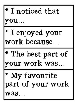 Feedback stems