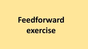 Feedforward exercise