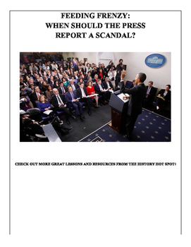 Feeding Frenzy: When Should the Press Report a Scandal?