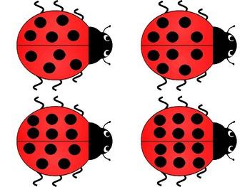 Feeding Ladybugs Number Matching