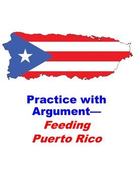 Feeding Puerto Rico: Practice with Argument