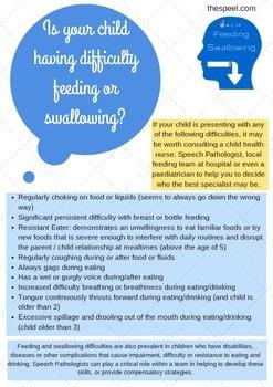 Feeding/Swallowing Developmental Expectation Checklist - Speech Pathology