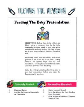 Feeding The Newborn Lesson