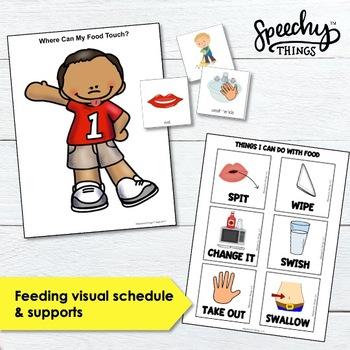 Feeding Visuals & Activities