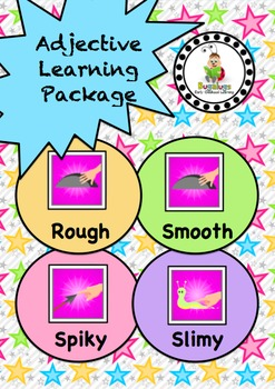 Feel Adjective / Concept Learning Package inc. Rough, Smooth, Spiky and Slimy