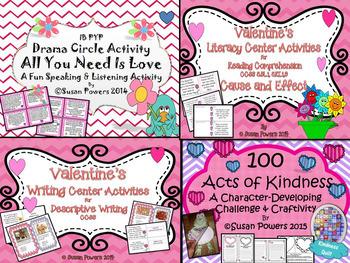 Feel the Love Valentine's Literacy Bundle
