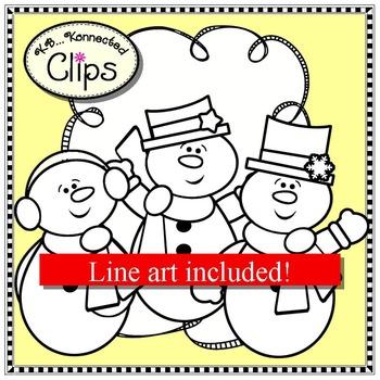 Feelin' Frosty Mix and Match Winter Clip Art Collection