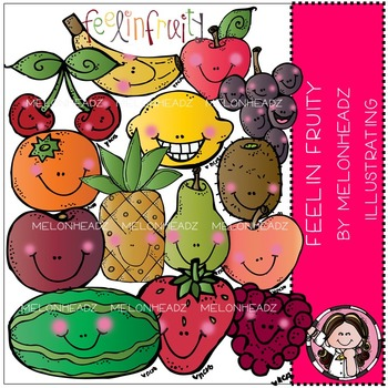Feelin Fruity clip art- by Melonheadz