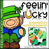 St. Patrick's Day Leprechaun Craft and Writing - Feelin' Lucky