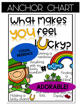 St. Patrick's Day Activity Writing & Leprechaun Craft - Feelin' Lucky