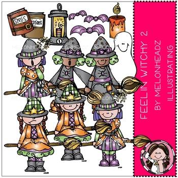 Feelin Witchy clip art Part 2- by Melonheadz