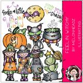 Feelin Witchy clip art- Melonheadz clipart