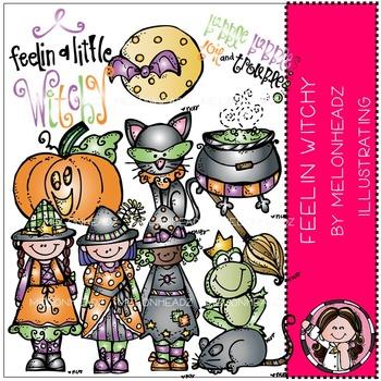Melonheadz: Feelin Witchy clip art - COMBO PACK
