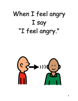 Feeling Angry Social Story