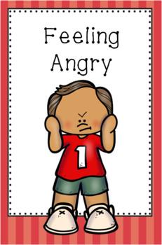 Feeling Angry Mini Social Story Set