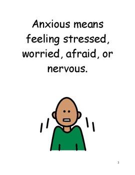 Feeling Anxious Social Story