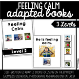 Feeling Calm Adapted Book | 3 Differentiated Books!