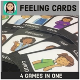 Feeling Cards: 4 Games In 1