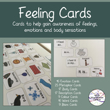 Feeling Cards - Emotions, feelings and body awareness cards