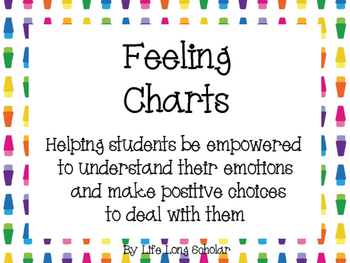 Feeling Charts -Conscious Discipline related