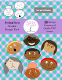 Feeling Faces Original Pack Clip Art