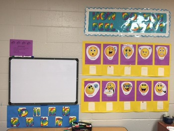 Feeling Faces for Bulletin Board
