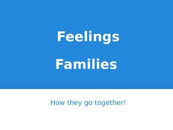 Feeling Families Powerpoint