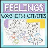 Feeling And Emotions Worksheets - Spring Themed
