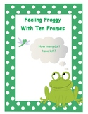 Feeling Froggy - Ten Frame Subtraction within 10